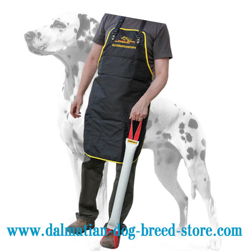 Fire hose dog bite tug for Dalmatians training, easy to train with