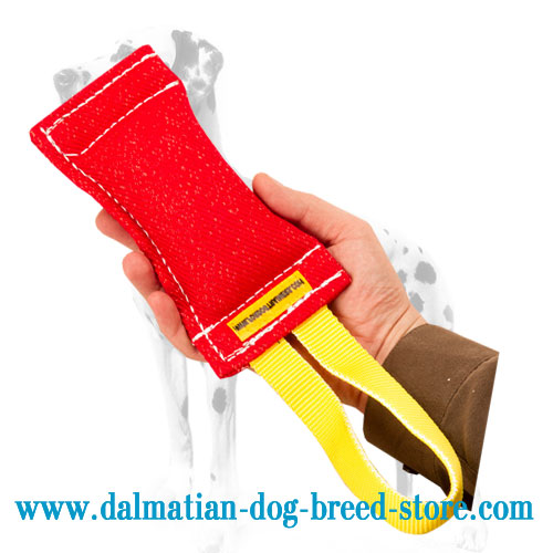 Dog bite tug for prey drive stimulation