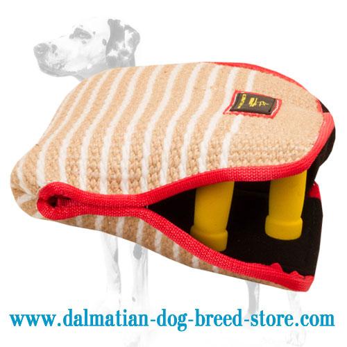 Dalmatian grip building sleeve made of Jute