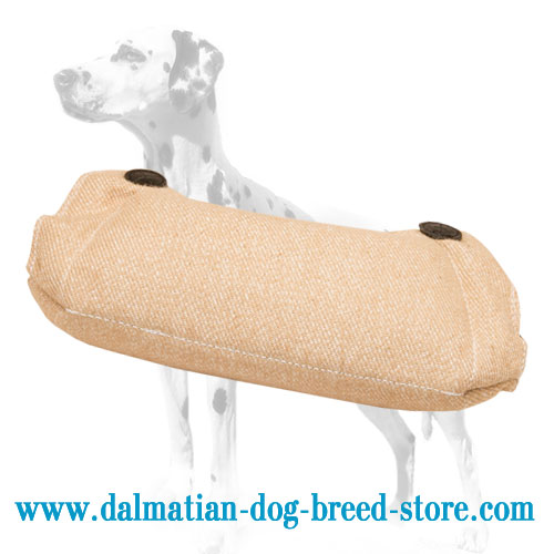 Young dog training grip builder of durable Jute