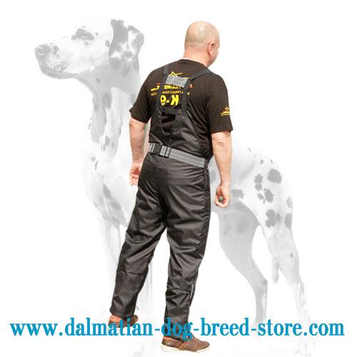 Dog training scratch pants od lightweight nylon