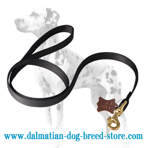 Dog leash for Dalmatian tracking and patrolling