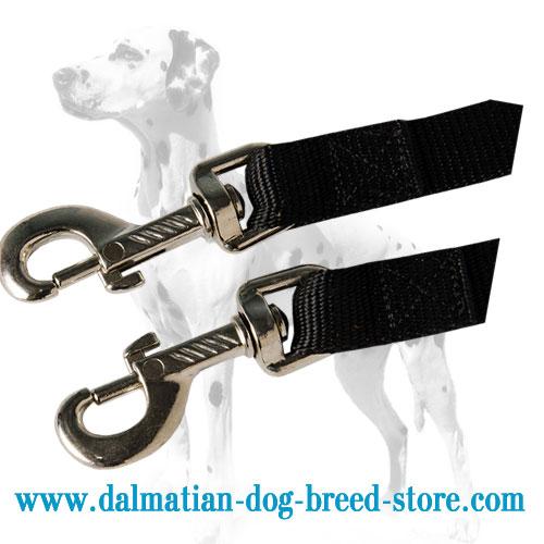 Nylon Dalmatian coupler, strong snaps
