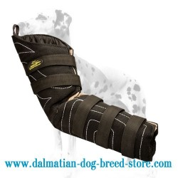 Ambidextrous Dalmatian Training Dog Hidden Sleeve