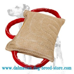 Dalmatian Training Dog Bite Pad of Jute
