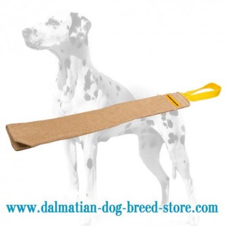Dalmatian Training Bite Rag of Extra Strong Jute