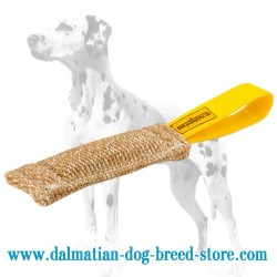 Ergonomic Design Dalmatian Training Dog Bite Tug