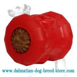 'Rolling Feeder' Dalmatian Dog Chew Toy - LARGE