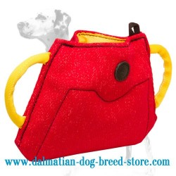 Sufficient Training Dalmatian Dog Bite Builder of French Linen