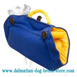 Dalmatian Dog Training Grip Builder made of French Linen
