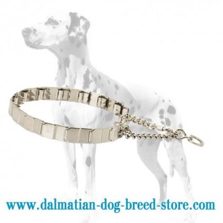 NEW Neck Tech Dalmatian Dog Pinch Collar