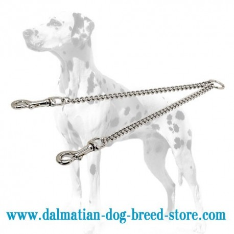 Dalmatian Dog Coupler Made of Chrome Plated Steel