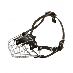 Exquisite Wire Basket dog muzzle for Dalmatian