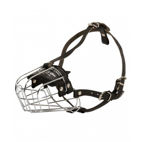 Exquisite Wire Basket dog muzzle for Dalmatian
