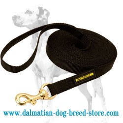 Nylon Dalmatian Dog Leash for Training and Tracking