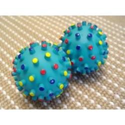 Crazy Color Rubber Ball Makes Sound
